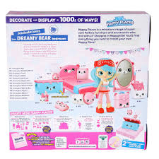 shopkins happy places dreamy bear set toy at mighty ape