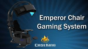 Gaming Lounge Chair Chair Nice Black Case King Emperor Gaming Chair In Black Colkor