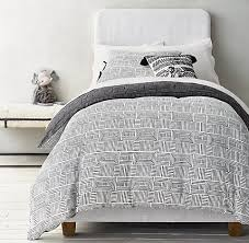 Organic Cotton Duvet Cover Mali Print Ultra Fine Organic Cotton Lines Bedding Collection Rh