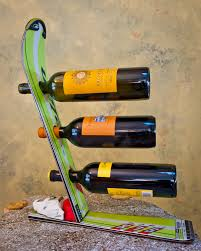 Skateboard Decorating Ideas Ski Wine Rack Wine Rack Wine And Cabin