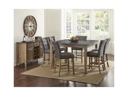 steve silver dining room sets steve silver debby transitional square counter height dining table