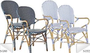 Rite Aid Home Design Wicker Arm Chair Knockoff Serena U0026 Lily Bistro Chairs For 60 Less The Krazy