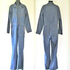 denim jumpsuit mens 70s jumpsuit 70s denim jumpsuit mens from thevillevintage on
