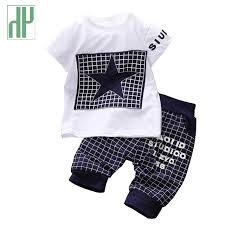 baby boy clothes 2017 brand summer clothes sets t shirt