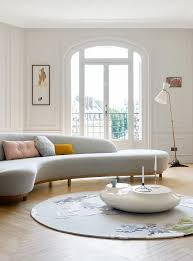 Sofa Curved How To Style Curved Sofas Mydomaine