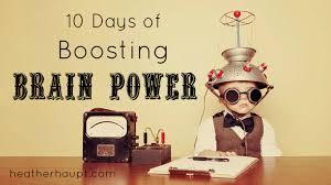 10 days of boosting brain power haupt
