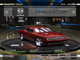 Dodge Challenger Mods - need for speed underground 2 cars by dodge nfscars