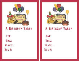 free printable first birthday invitation templates tags free