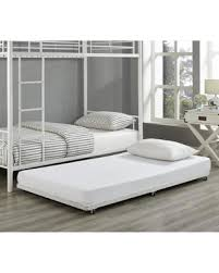 Couch Trundle Bed Amazing Deal On Twin Metal Trundle Bed Frame White