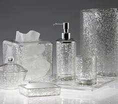 bathroom clear glass accessories crackle sets and astralboutik