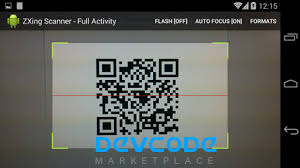 barcode reader app for android android zxing barcode scanner android app source code
