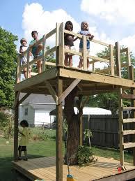 soulful backyard treehouse outdoor decorate along and backyard