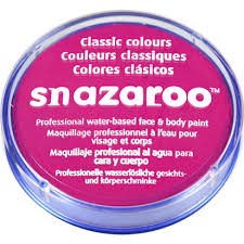 Snazaroo Light Grey Snazaroo White Face Paint 18ml Delights Direct