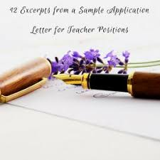 the 25 best application letter for teacher ideas on pinterest