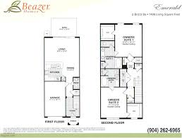 beazer floor plans stonefield at bartram park townhomes and courtyard homes in