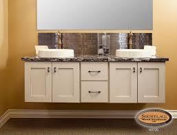 cabinets showplace floating vanities make your bath unique