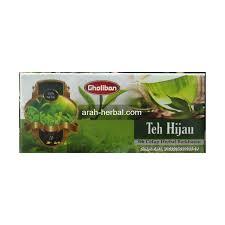 Teh Hijau gholiban teh hijau celup arah herbal