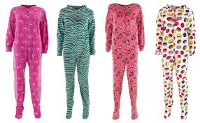 footed pajamas for thrifty jinxy