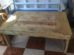 Table En Caisse En Bois Créations Et Meubles En Bois De Palettes Recyclées