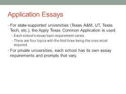 Applytexas Help Desk College Application Essay Writing Application Essays For State
