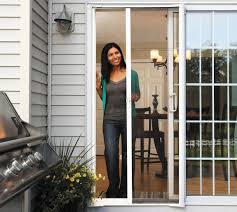 Sliding Screen Patio Doors Odl Brisa Retractable Screen Sliding Door Installation