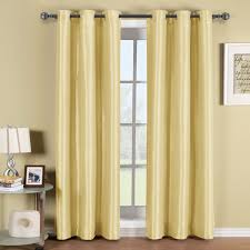 Thermal Panel Curtains Soho Thermal Blackout Grommet Top Curtain Panels Single