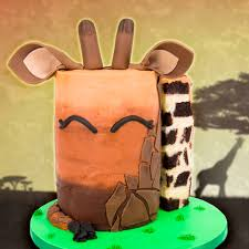 giraffe cake how to make a giraffe cake april the giraffe cake
