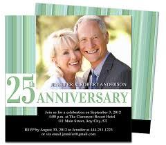 9 best 25th u0026 50th wedding anniversary invitations templates