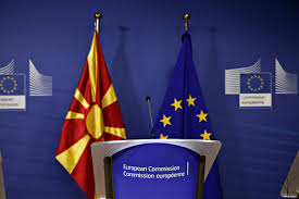 Macedonian Flag Eu To Open Accession Talks If Macedonia Keeps Up With Reforms