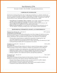 accounting controller resume examples essay format example