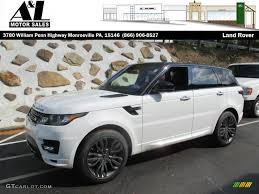 land rover hse 2016 2016 fuji white land rover range rover sport hse 107762164 photo