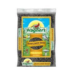 wagner u0027s 2 lb black oil sunflower seed wild bird food 52021 the