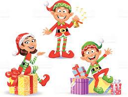 christmas elves christmas elves 2 stock vector 165929379 istock