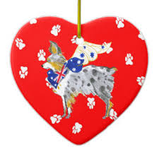 australian shepherd ornaments keepsake ornaments zazzle