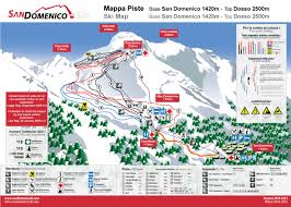 Piste Maps For Italian Ski by Bergfex Piste Map San Domenico Panoramic Map San Domenico Map