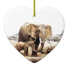 love elephants christmas tree decorations u0026 ornaments zazzle co uk