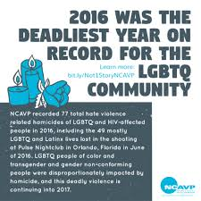 why 2016 was the deadliest year ever for the lgbtq community