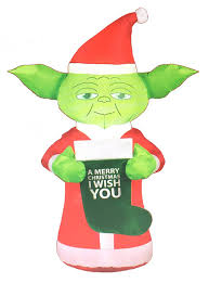 target halloween inflatables amazon com star wars 5ft yoda christmas airblown inflatable with