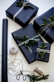 where the things are wrapping paper 7 ways to pull black gift wrap this year apartment therapy