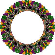 mardi gras picture frames mardi gras frames mardi gras cluster frame mardi gras