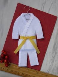 martial arts personalized yellow belt by christmasgal