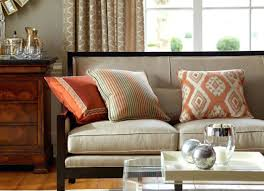 Orange Pillows For Sofa by 30 Collection Of Oversized Sofa Pillows