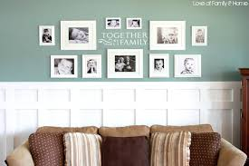 home interior frames wall ideas group of photo frames on the wall large photo frame