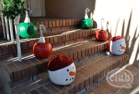 holiday pumpkins re purposed club chica circle where crafty is