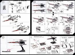 1 72 x wing starfighter english manual u0026 color guide mech9 com
