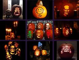 zombie pumpkin carving patterns by printable templates product