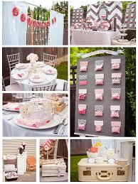kitchen tea ideas themes bridal shower themes the elegant and simple bridal shower decor
