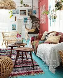 bohemian living room decor sofa furniture white