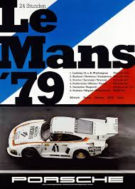 porsche poster porsche at le mans 1974 to 1981 history photos profile