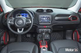 Interior Jeep Renegade Jeep Renegade Interior Tapicería Y Maletero Motor 16